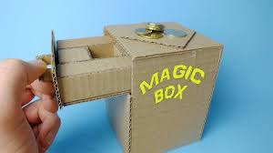 How To Make Magic Box Out Of Cardboard Easy Awesome Trick