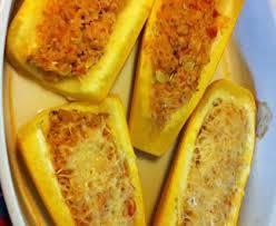 cuisiner la courgette jaune courgettes jaunes farcies au poulet recette de courgettes jaunes