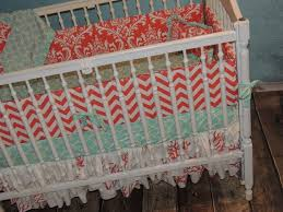 Aqua And Coral Crib Bedding by The 25 Best Coral Crib Bedding Ideas On Pinterest Coral Navy