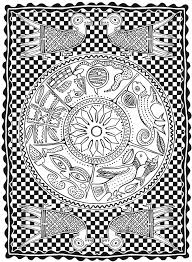 Creative Haven African Designs Coloring Book Dover Publications