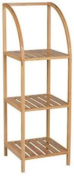 spetebo bambus standregal 100 cm 3 böden holz badezimmer regal badregal küchenregal