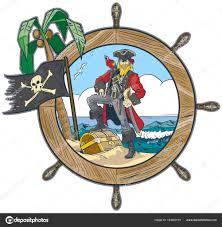 100 Design A Pirate Ship Clipart Ship Steering Wheel Vector In S