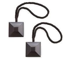 Magnetic Curtain Rod Kohls by Best 25 Black Curtain Holdbacks Ideas On Pinterest Black