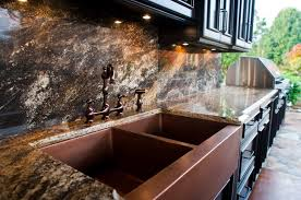 kitchen beautiful kitchen with ornate copper kitchen sink and