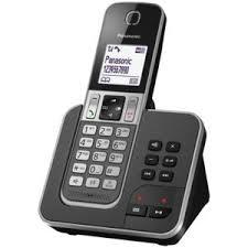 panasonic téléphone fixe sans fil avec répondeur kx tgd320frg