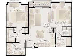 tribeca urban 2 bedroom apt for rent in west la plan c