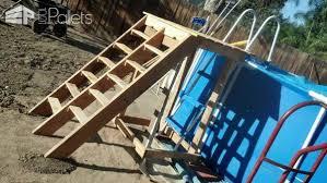 Pallet Pool Deck Supplies Caddy