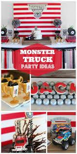 100 Monster Truck Party Ideas Monster Trucksracingcars Birthday Jam 8 In 2019 Best