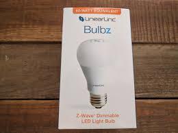 z wave review linear dimmable led light bulb lb60z 1 deviant