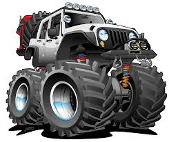 100 Scott Fulcher Trucking White Jeep Jku Unlimtied Cartoon Jeeps