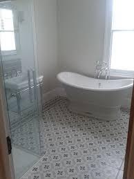 marble vs ceramic tile bathroom home willing ideas