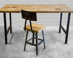 Reclaimed Wood Desk Top Office Furniture Modern Custom Wood Top Desk Desk