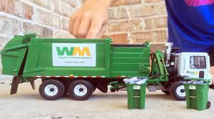 100 Youtube Garbage Truck Videos For Children L First Gear Mack Side Loader