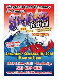 Clayton County Pumpkin Patch by Clayton U0027s Crab Company U0027s 3rd Annual Seafood Festival Brevard