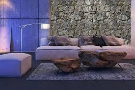 bruchstein verblender grau steinoptik wandverkleidung