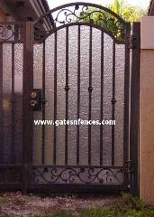 Garden Gates Decorative Gates Wrought Iron Aluminum Garden Custom Gate