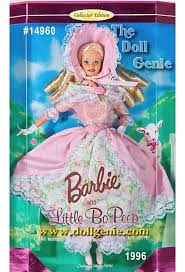 Barbie Had A Little Lamb Nursery Rhyme Collection Barbie Doll ©1998