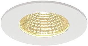 slv led spot patta i dimmbar led einbaustrahler einbau leuchte deckenstrahler für flur wohnzimmer küche badezimmer geeignet led