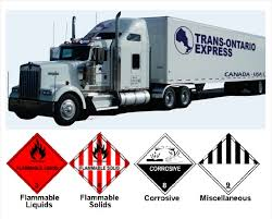 Transportation Of HazMat Freight To USA CANADA | Hazardous Materials ...
