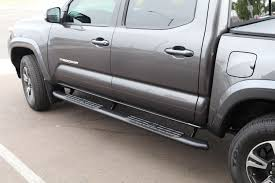 100 Nerf Bars For Trucks 20052019 Tacoma Double Cab 4 Wide Black Sidebars Truck Access Plus