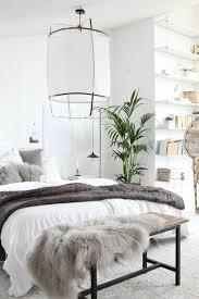 plante verte dans une chambre à coucher chambre à coucher moquette blanc gris plante verte d intérieur