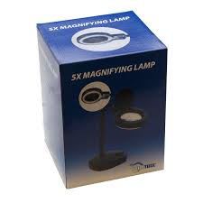 Smoking Lamp Is Lighted by Eurotool Reading Lamp Illumination Magnifier Glass With 5x And