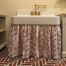 Burlap Utility Sink Skirt by Bathroom Sink Skirt The Bath Pinterest Bathroom Sink Skirt