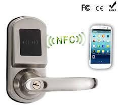 Remote hotel smart door locks NFC Door Lock Mobile Phone Android