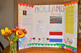 Tri Fold Poster Board Ideas Countries