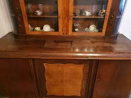 buffetschrank wohnzimmer schrank kommode anrichte antik echtholz