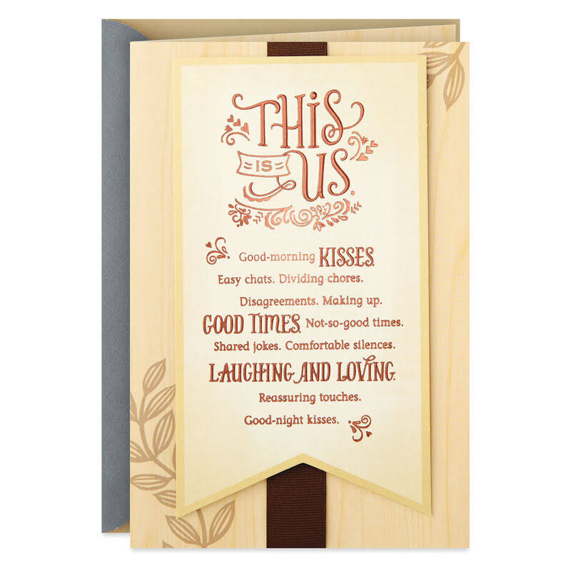 This Is US Anniversary Card