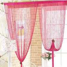 Pink Sheer Curtains Walmart by Curtains Interesting Space Room Divider Ideas With String