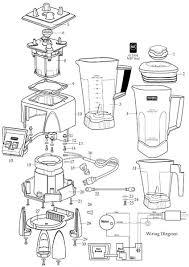 Parts Town Waring MX1000 Blender Manual