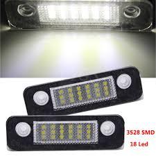 2x 18smd led number license plate light l for ford mondeo mk2