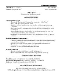 Administrative Assistant Objective Resume For Customer Service Summary Examples