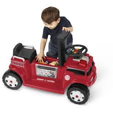 100 Power Wheels Fire Truck Radio Flyer BatteryOperated For 2 With Lights And Sounds