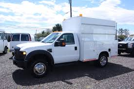 100 F450 Truck 2008 FORD ENCLOSED WALK IN UTILITY Russells Sales