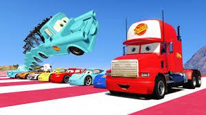 100 Lightning Mcqueen Truck CARS 2 McQueen And Friends Mack Tow Mater Super Jump