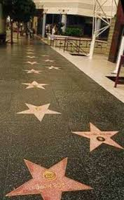 One Of The Most Well Known Examples Terrazzo Flooring Is Hollywood Walk Fame