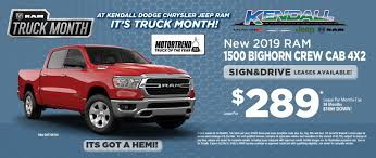 100 Dodge Truck Lease Deals Chrysler Jeep Ram Specials Doral Kendall