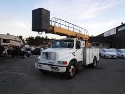 Used 2001 International 4700 Bucket Truck Diesel With Air Brakes For ... 2002 Gmc Topkick C7500 Cable Plac Bucket Boom Truck For Sale 11066 1999 Ford F350 Super Duty Bucket Truck Item K2024 Sold 2007 F550 Bucket Truck For Sale In Medford Oregon 97502 Central Used 2006 Ford In Az 2295 Sold Used National 1400h Boom Crane Houston Texas On Equipment For Sale Equipmenttradercom Altec Trucks Info Freightliner Fl80 Point Big Vacuum Cranes Sweepers 1998 Chevrolet 3500hd 1945 2013 Dodge 5500 4x4 Cummins 5899