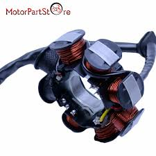 Ignition Stator Magneto 8 Coil For GY6 50cc 110cc 150cc Scooter Moped ATV TAOTAO JCL AC In Motorbike Ingition From Automobiles Motorcycles On