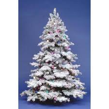 Flocked Alpine Pre Lit Christmas Tree In Cheap Price On Alibaba