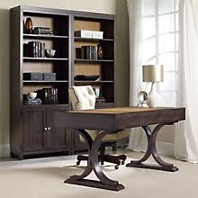 South Park Two Tone Double Bookcase and Writing Desk Set HOO