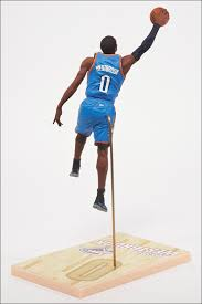 Upper Deck Westbrook Ct Accident by Russell Westbrook Oklahoma City Thunder Nba 21 Mcfarlane