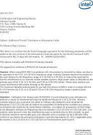 62205ANHU Intel Centrino AdvancedN 6205 User Manual French Warning