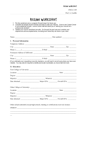 Resume Worksheet 6 Best Of Worksheets For College Students High Resume Worksheet School Student Template Examples Free Printable Resume Mplate Highschool Students Netteforda Fill In The Blank Rumes Ndq Perfect To Get A Job Federal Worksheet Mbm Legal Pin By Resumejob On Printable Out Salumguilherme