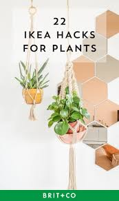 Pot Plants For The Bathroom by 22 Ikea Hacks For The Plants In Your Life Brit Co