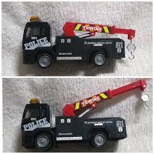 IKEA50 Police Die Cast Towing Truck, Toys & Games, Toys On Carousell