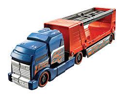 100 Rig Truck Amazoncom Hot Wheels Crashin Big And Car Set Blue Cab